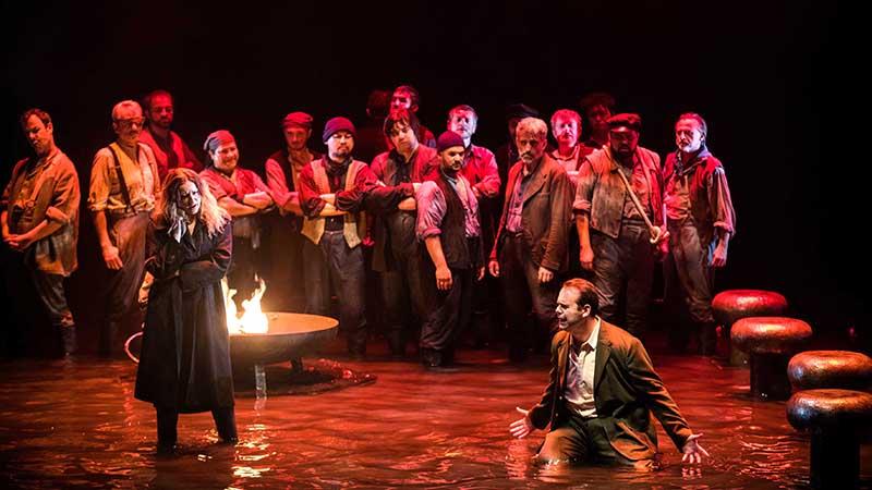 « Le Vaisseau fantôme » doit inaugurer la rediffusion, chaque mercredi, d'opéras et de concerts.